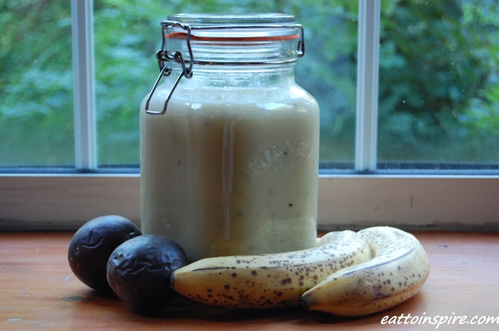 Banana Passionfruit Smoothie