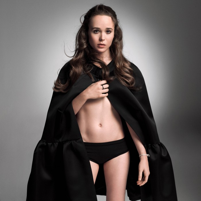 Ellen Page, tiny Canadian actress