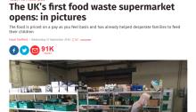 food waste supermarket